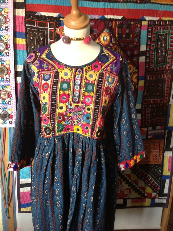 GYPSY BANJARA embroidered boho  ethnic dress