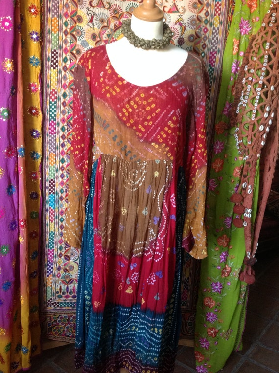 SÚPER  gypsy lovely Ethnic indian boho dress