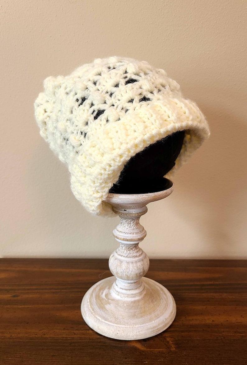 6-12 months Vanilla Bean Baby Crochet Hat