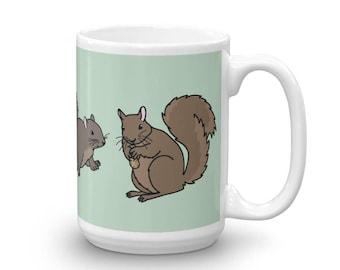 Jumbo Squirrel Mug