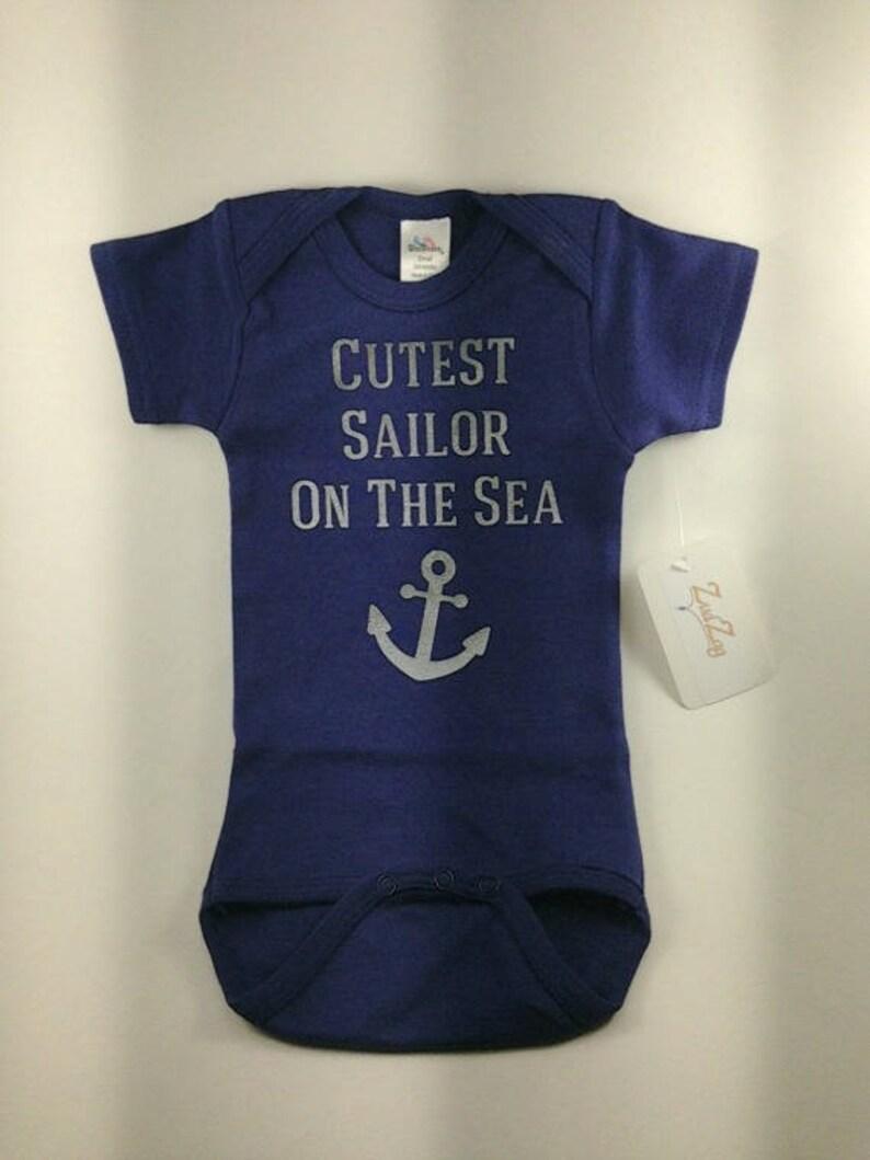 75e360029 Nautical Baby Clothes Sailor Baby Baby Boy Clothes Boat | Etsy