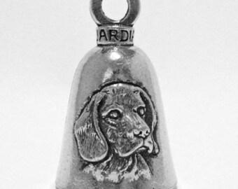 Guardian Bell Llavero con Amuleto de Campana con dise/ño de /águila