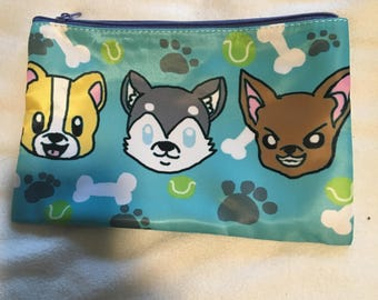 Dog Seconds Cosmetic Bag