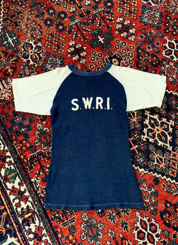1930s Wool Chain Stitched Lettered Baseball Jersey