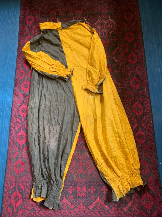 Antique black and gold jester Halloween costume