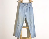 Vintage Light Wash Levi s Denim Jeans High Waisted