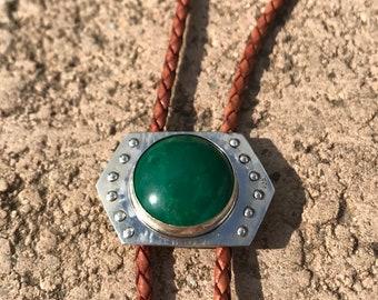 Metal bolo tie Rocker bolo tie Sun bolo tie Scarlet begonias grateful dead jewelry Sun ray necklace Copper bolo tie Round bolo tie