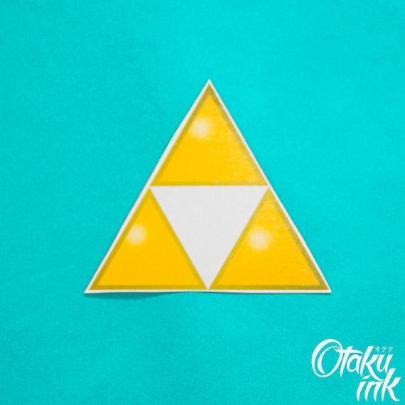 La Legende De Zelda Triforce Tatouage Temporaire Par Otaku A Etsy