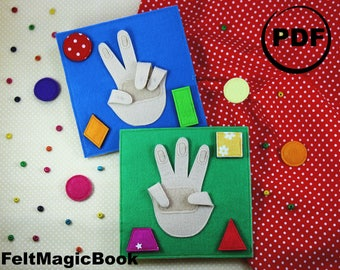 FOR CHILDREN |ARMS | Busy Book | Quiet Book | Felt Busy Book | Toddler book | Activity Book | Fabric quiet book | Gift for Kids