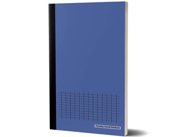 Everyday Journal Notebook, Graph Paper (Blue Cover), Grid Paper, 47A1975718623