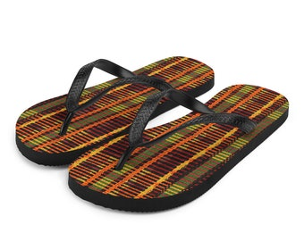 f27153a805852 Kente sandals | Etsy