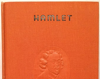 hamlet with the famous temple notes william shakespeare later printing 1909 illustrated hardcover tragedy play drama prince of denmark - William Shakespeare Lebenslauf