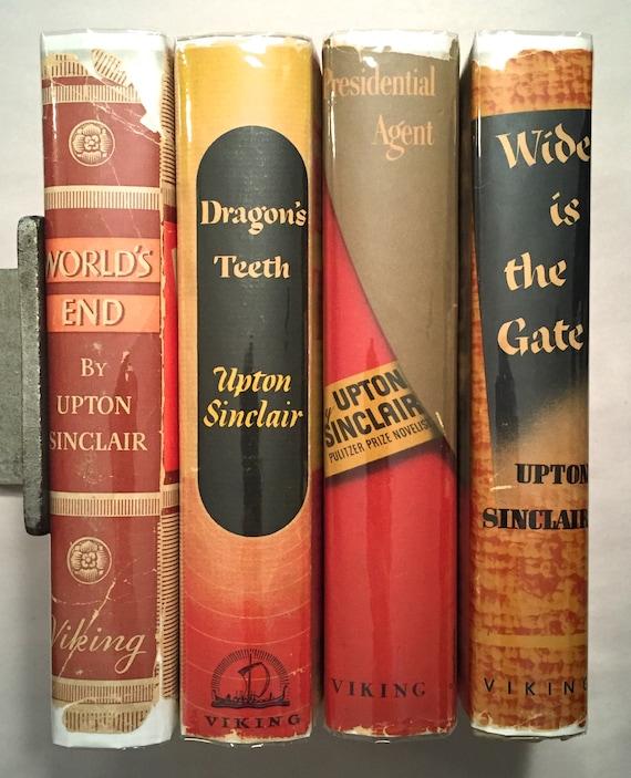 Upton Sinclair Dragons Teeth Worlds End Etsy