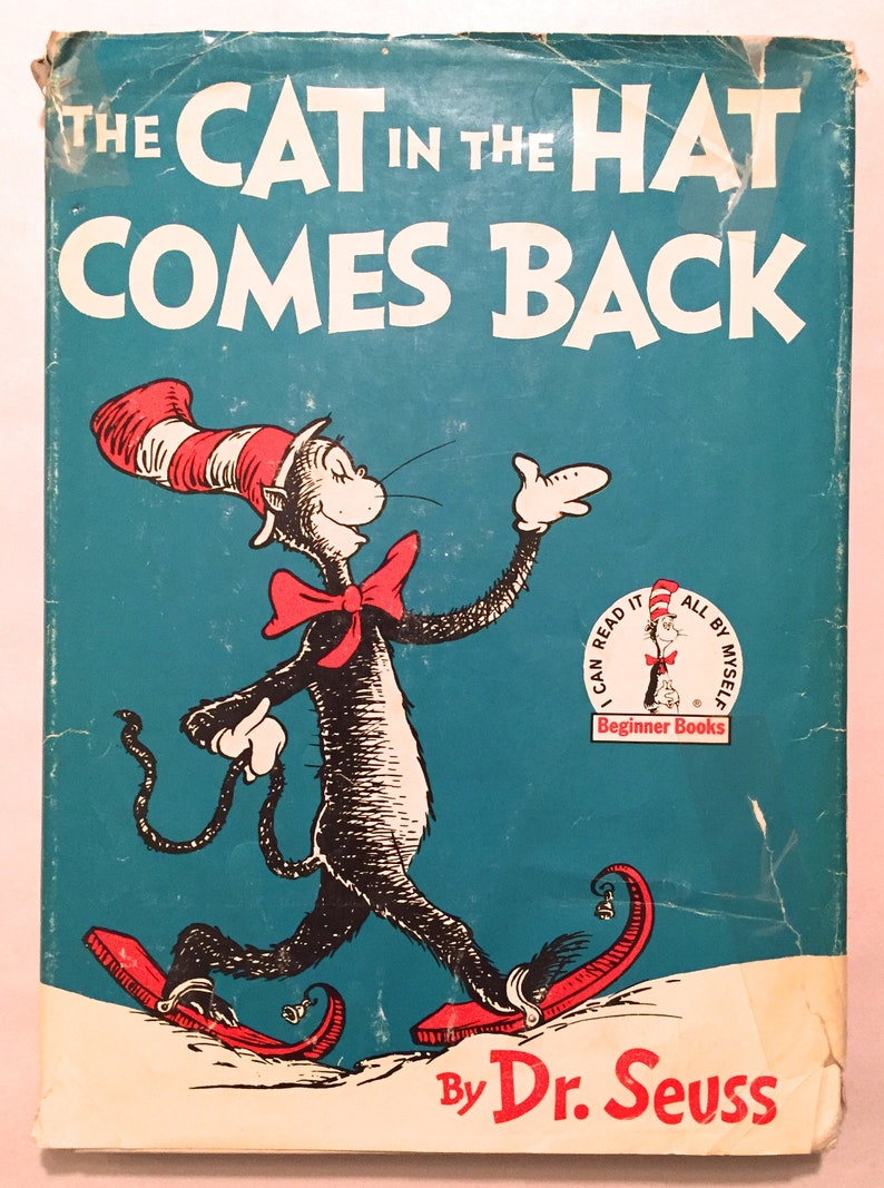 8544d4b9 The Cat in the Hat Comes Back Dr. Seuss Later Printing   Etsy