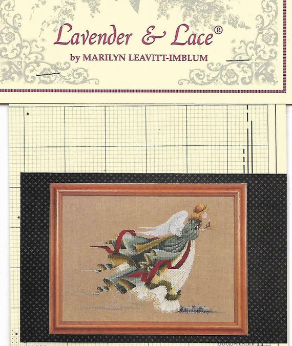 """/""""COUNTY FAIR/"""" BY Lavender and Lace COMPLETE CROSS STITCH MATERIALS"""