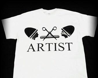 Hairstylist Gift, Hairstylist Shirt, Barber Shirt, Hairdresser Shirt, Beautician Shirt, Beauty School Shirt, Size S, M, L, XL