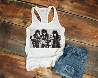 Womens Def Leppard Dropped Arm Vest Tank-Top Singlet T-Shirt Ladies