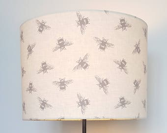 Bee Drum Lampshade - handmade lamp shades in 3 sizes!