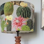 Cactus Drum Lampshade - handmade lamp shades in 3 sizes!