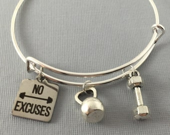 Fitness Jewelry - Fitness Gifts - Gift for Her - Workout - Weight loss - Fitness - Mothers Day Gift - Fitness Motivation - She Squats -