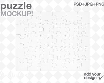 sublimation puzzles etsy