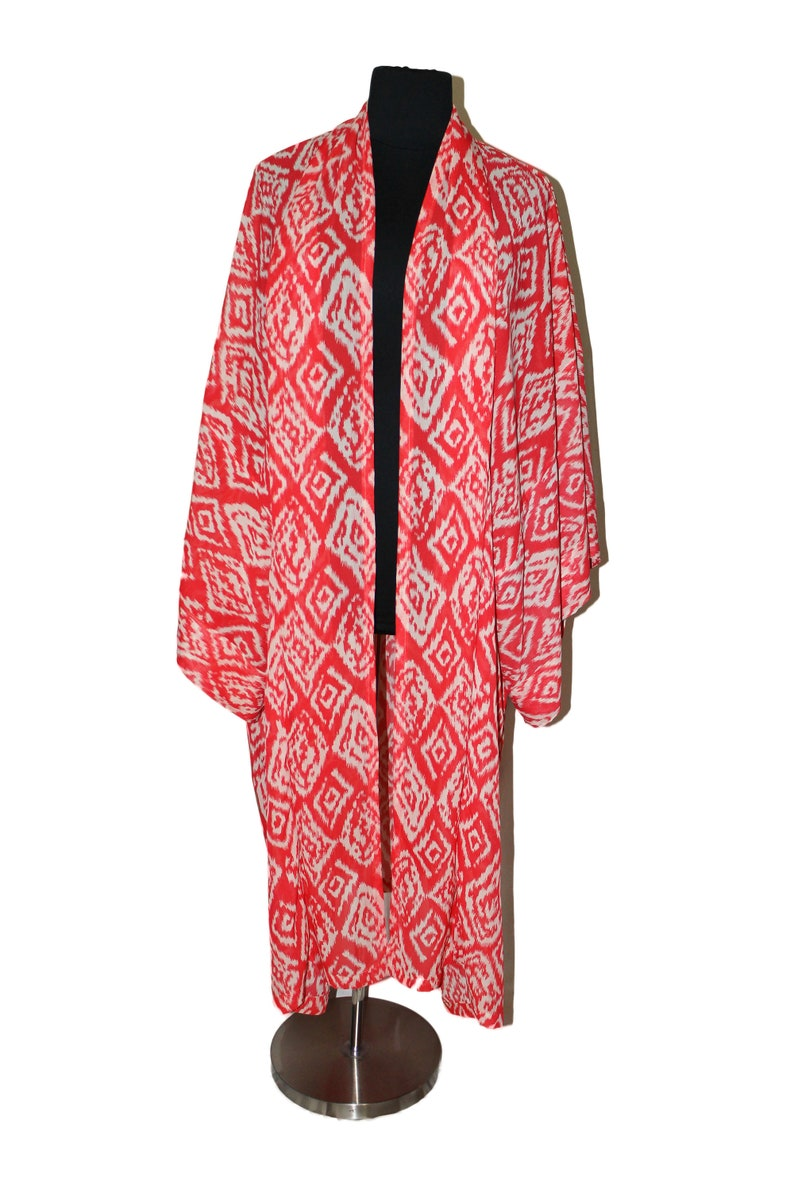 Plus Size Kimono Plus Size Duster Coral Stone Swimsuit image 0