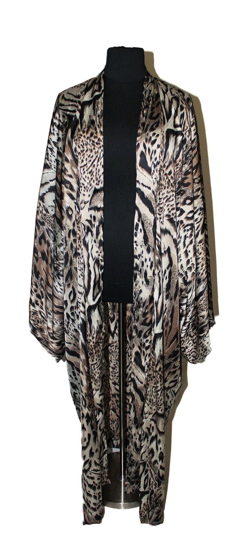 Plus Size Kimono Plus Size Duster WYLD image 0