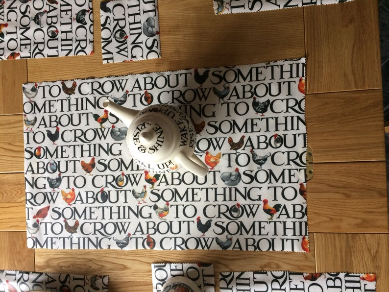 Emma Bridgewater Table Runner Place Mats and Coasters