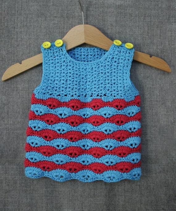 b02d12ba1 Baby girl dress baby girl crochet dress eco friendly baby