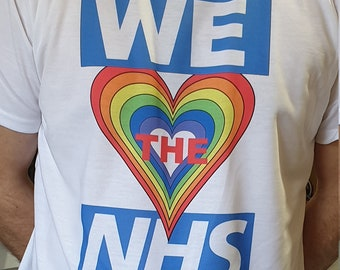We Love the NHS T-Shirt Simply The Best
