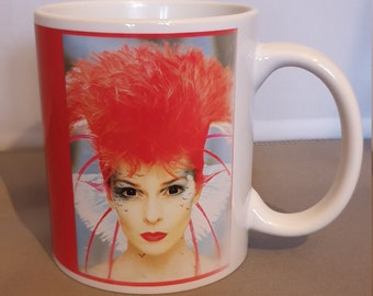 Toyah Brave New World with Toyah in Pink mug