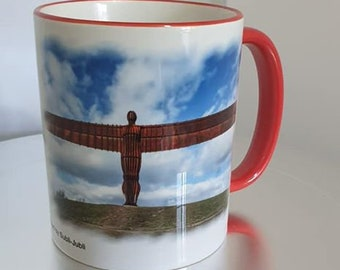 Our Britain's Finest Collection Red Handle and Rim Mug Collection 1