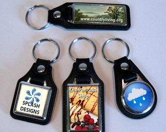 Personalised Key Rings Leather & Metal Personalised Gifts