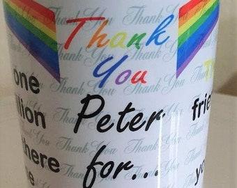Personalised 'Thank You' Mug Design 2