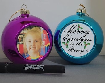 Personalised Christmas Bauble Christmas Ornament Personalised Gifts