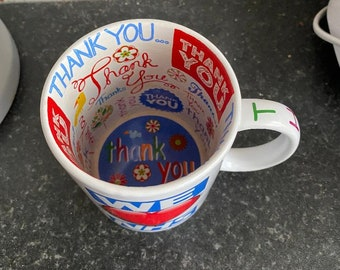 Personalised 'Thank You' Mug Personalised Gifts