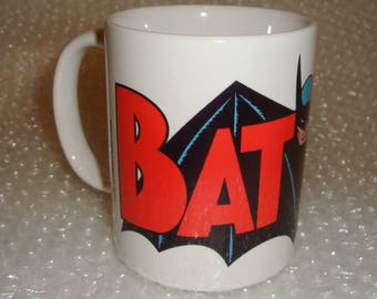 Batman Logo Mug 1960's
