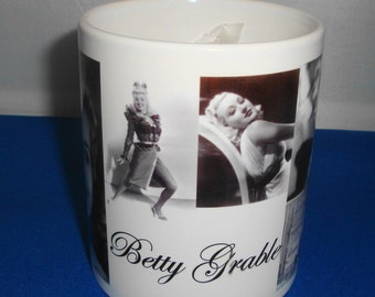 Betty Grable Mug a perfect gift **FREE SHIPPING**
