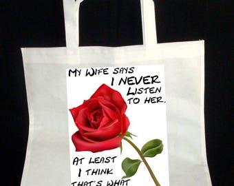 Personalised Tote Bag Short Handle Design 4