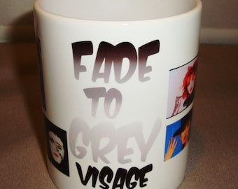 Visage Fade to Grey Mug Style 1 Music Mug Coffee Mug