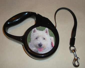 Personalised Retractable Pet Lead