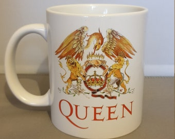 Queen Ceramic Mug 10oz