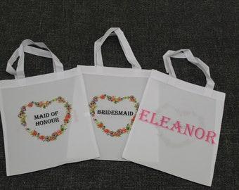 Personalised Tote Bag Short Handle