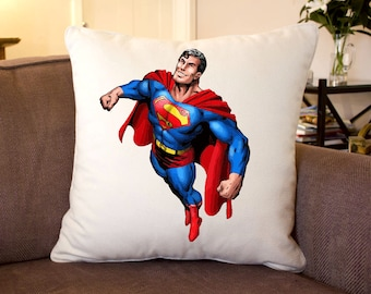 Superman Silk Feel Cushion 35 cm Sq