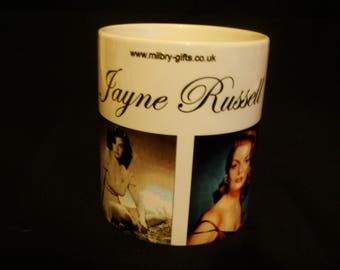 Jayne Russell Movie Star Mug