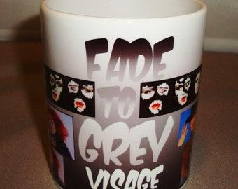 Visage Fade to Grey Mug Style 2 Music Mug