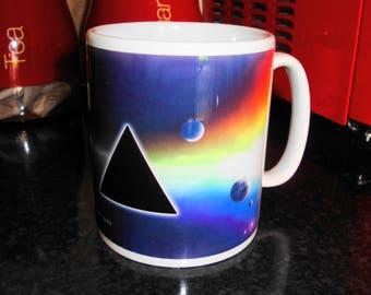 Pink Floyd White 10oz Ceramic Mug Music **FREE SHIPPING**