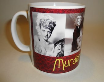 Murder She Wrote Angela Lansbury The Faces Mug