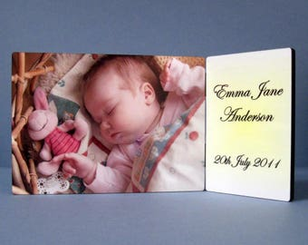 Personalised Chromaluxe Photo Panel Rectangle