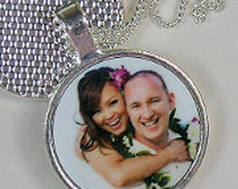 Personalised Photo Round Pendant
